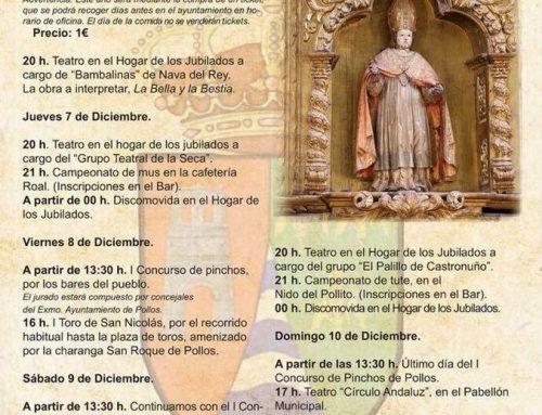 Programa de la Festividad de San Nicolás de Bari