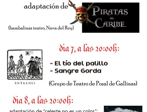 Segunda Muestra de Teatro Aficionado Villa de Pollos