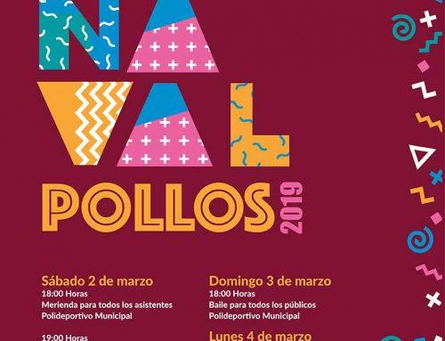 Programación de Eventos para Carnaval 2019